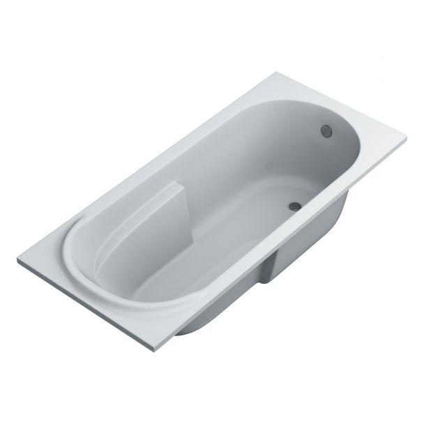 Ванна Swan Nikol 160х75 акрилова прямокутна